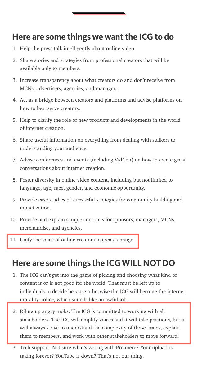 ICG Points