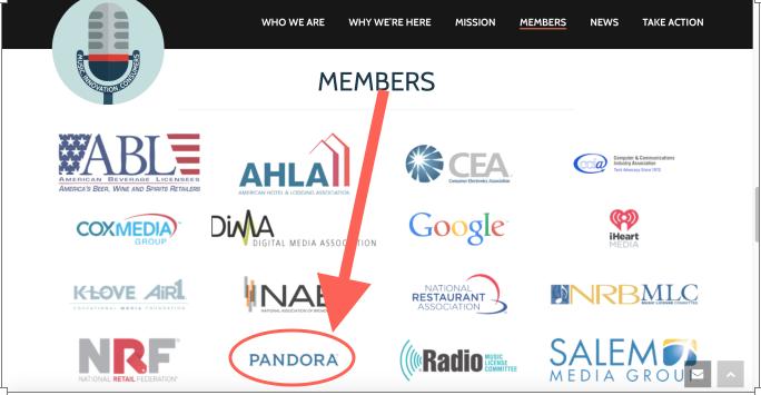 Pandora MIC Coalition