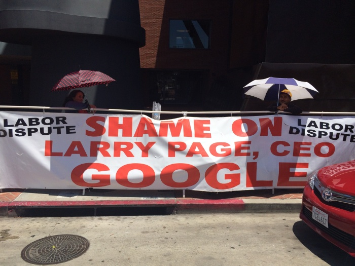 google-protesters