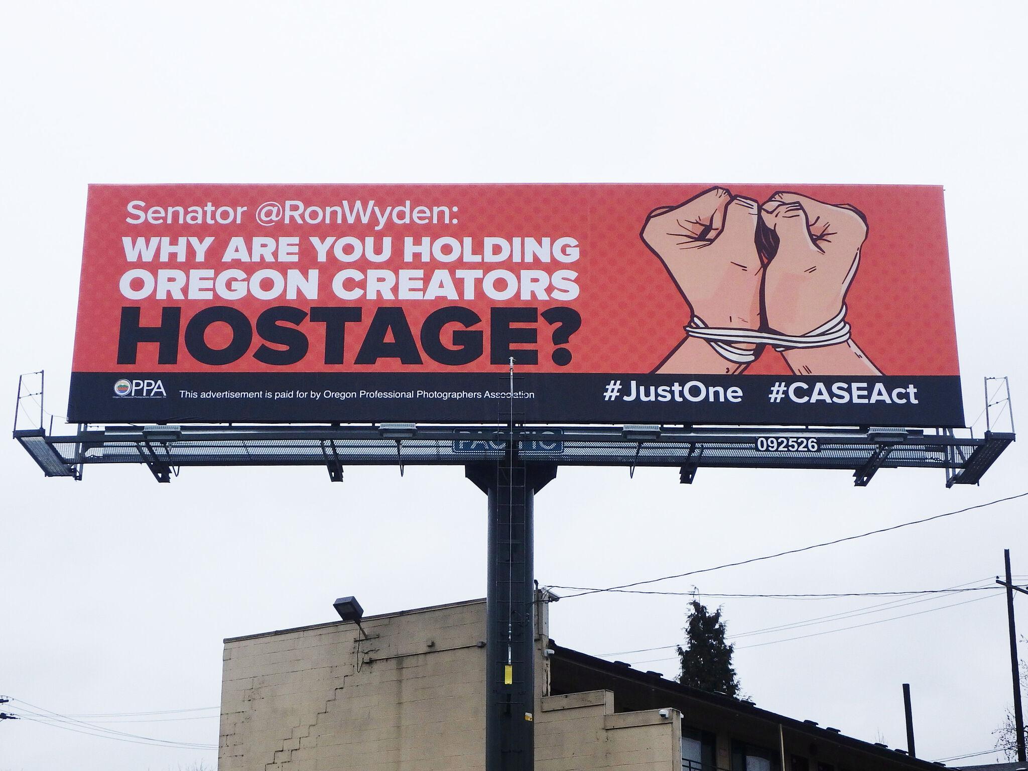 wyden billboard